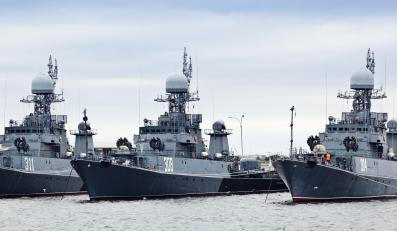 Rosyjskie okręty Floty Bałtyckiej