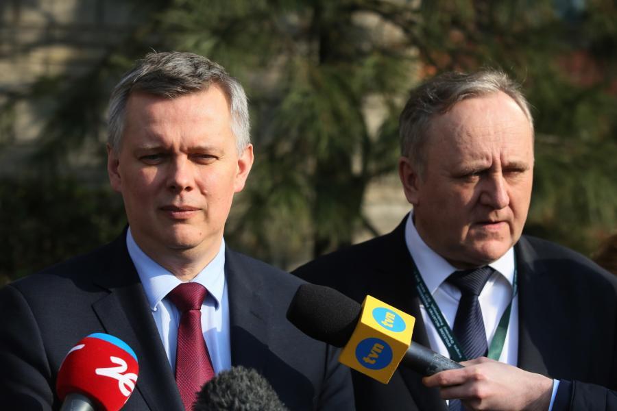 Wicepremier, minister obrony narodowej Tomasz Siemoniak