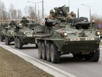 Amerykańskie wozy opancerzone wjechały do Polski. ZDJĘCIA