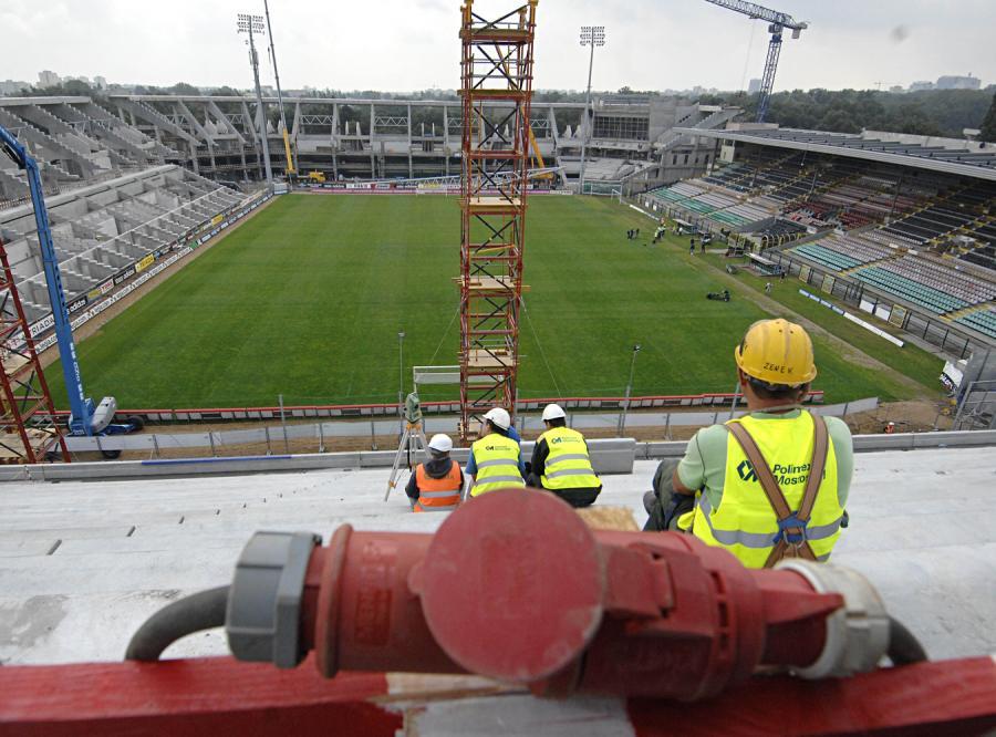 Warszawa wydała 400 mln zł na stadion