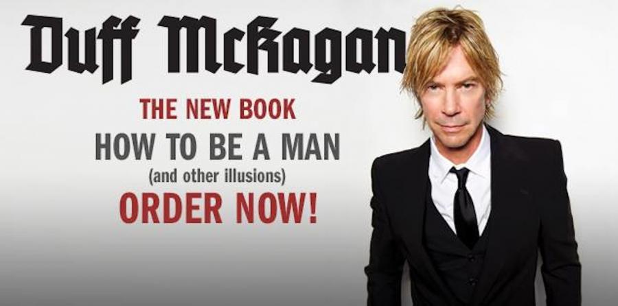 Duff McKagan reklamuje swoje dzieło