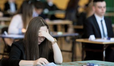Uczniowie gimnazjum nr 21 w Gorzowie Wielkopolskim