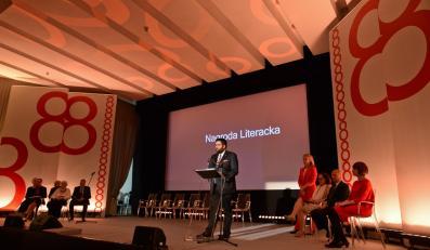 Gala finałowa 8. edycji Nagrody Literackiej m.st. Warszawy w Bibliotece Narodowej w Warszawie