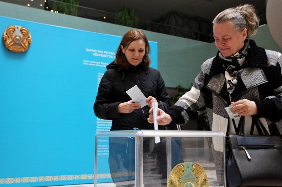 Wybory w Kazachstanie