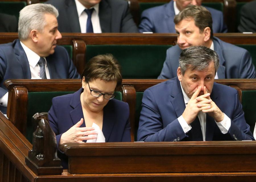 Cezary Grabarczyk w Sejmie
