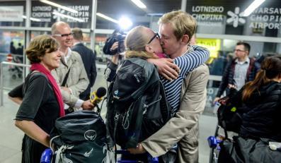 Do Warszawy przyleciał specjalny samolot z 50 osobami ewakuowanymi z Nepalu