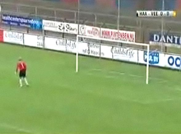 Ależ gol z 40 metrów! Zobacz wideo