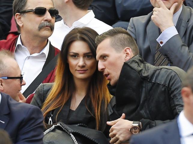 Jessica Ziółek i Arkadiusz Milik