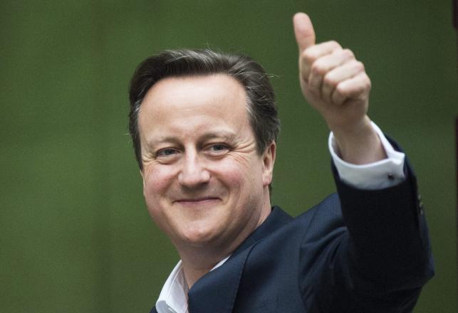 Triumfalne zwycięstwo Camerona