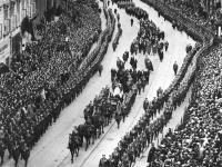 Ćwierć miliona ludzi żegnało marszałka. ZDJĘCIA z pogrzebu Piłsudskiego