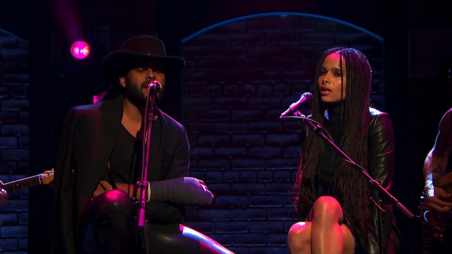Zoë Kravitz i Twin Shadow w programie \