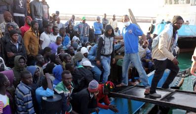 Imigranci z Afryki