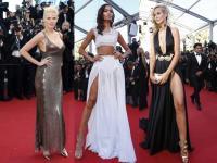 Ubrane pro forma... Top modelki podgrzały atmosferę w Cannes