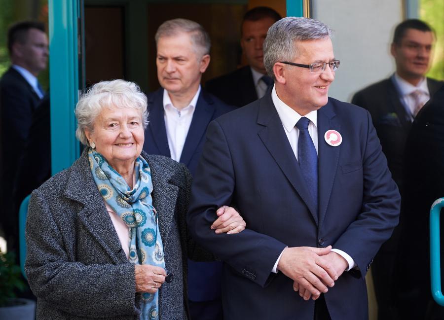 Bronisław Komorowski i Jadwiga Komorowska