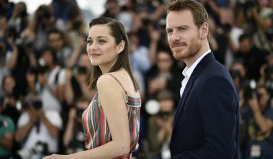 """Gwiazdy filmu """"Macbeth"""" – Marion Cotillard i Michael Fassbender w Cannes"""