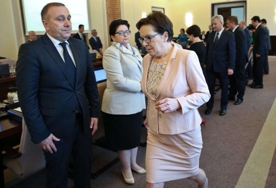 Grzegorz Schetyna i Ewa Kopacz