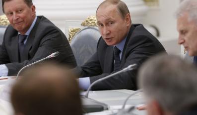 Władimir Putin w gronie doradców