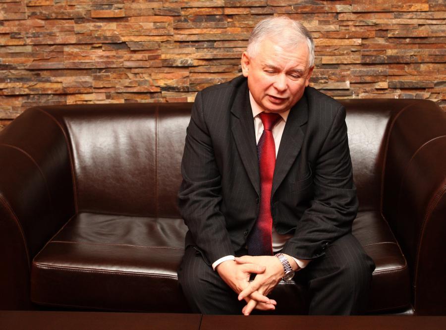 Jarosław Kaczyński o przyszłośći PiS : Gdybym wierzył w sondaże, to bym się powiesił