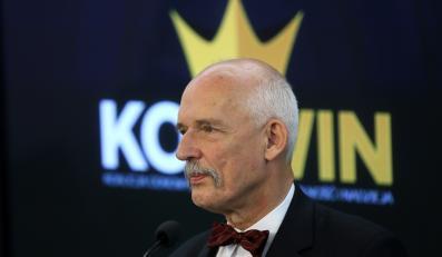 Europoseł, Prezes Partii KORWiN - Janusz Korwin-Mikke