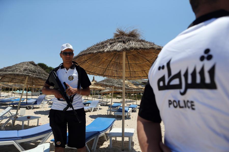 Siły bezpieczeństwa w Tunezji