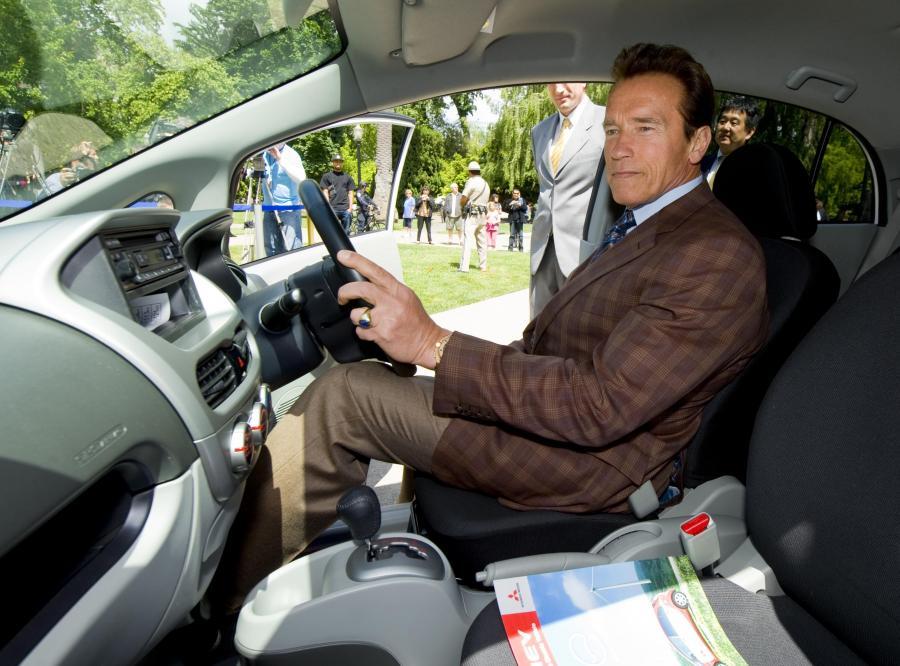 Jak Schwarzenegger testował auto na prąd
