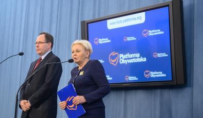 Krystyna Skowrońska przedstawia plan PO dla frankowiczów