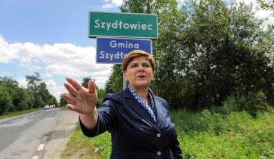 Beata Szydło w Szydłowcu