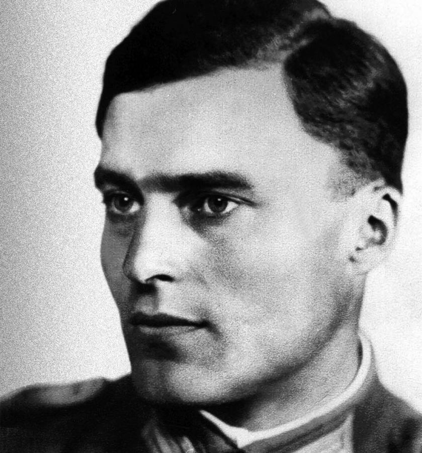 Claus von Stauffenberg (1907-1944) (fot. Autor nieznany, http://www.millennivm.org/millennivm/?p=1207)
