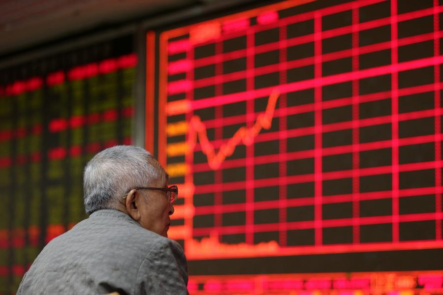 Indeksy giełdowe w Chinach