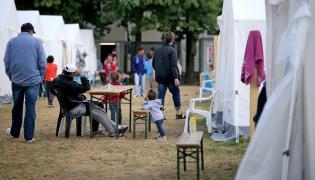 Obóz dla uchodźców w Niemczech