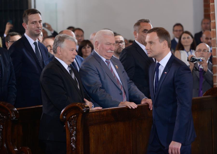Andrzej Duda na mszy w archikatedrze warszawskiej inaugurującej jego prezydenturę