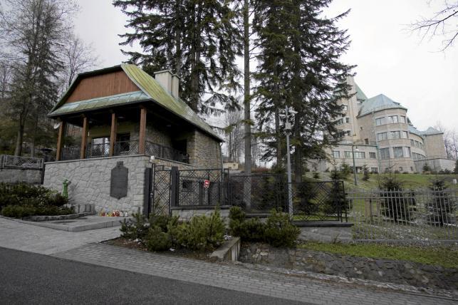 Rezydencja Prezydenta RP, Zamek w Wiśle