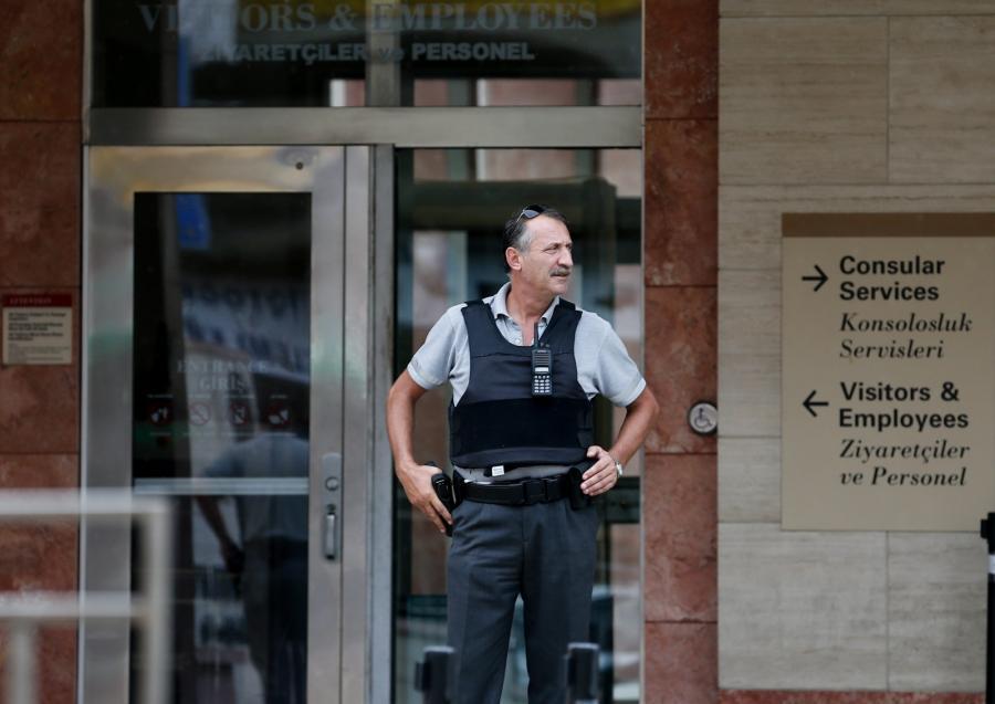 Atak na konsulat USA w Stambule