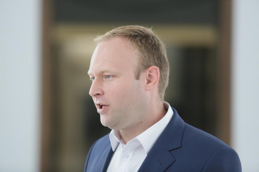 Rzecznik prasowy sztabu wyborczego PiS Marcin Mastalerek