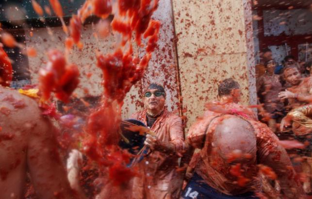 Pomidorowa bitwa w Bunol