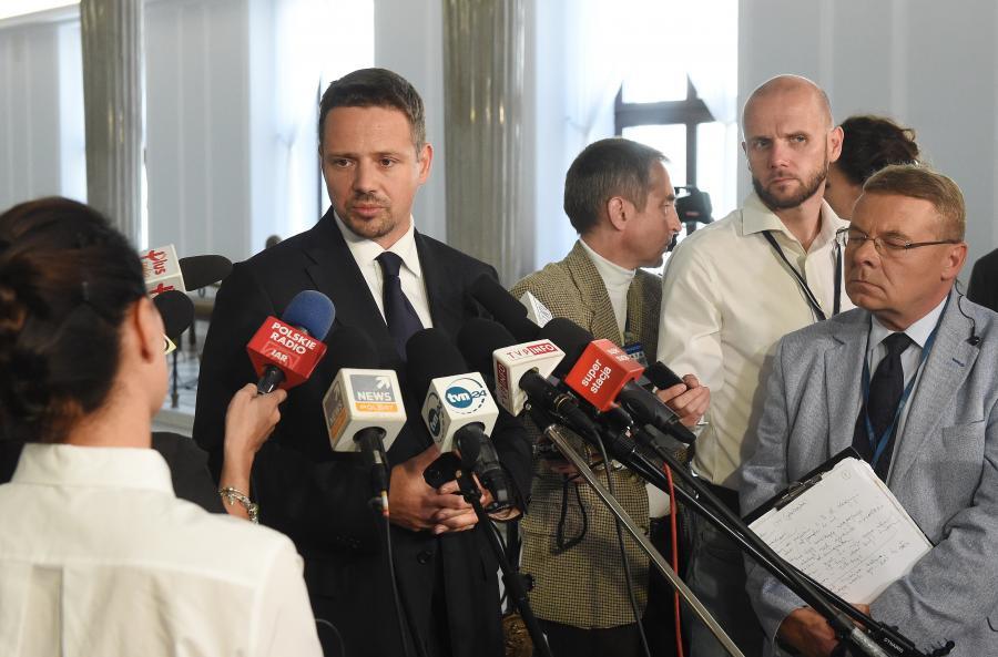 Rafał Trzaskowski w Sejmie