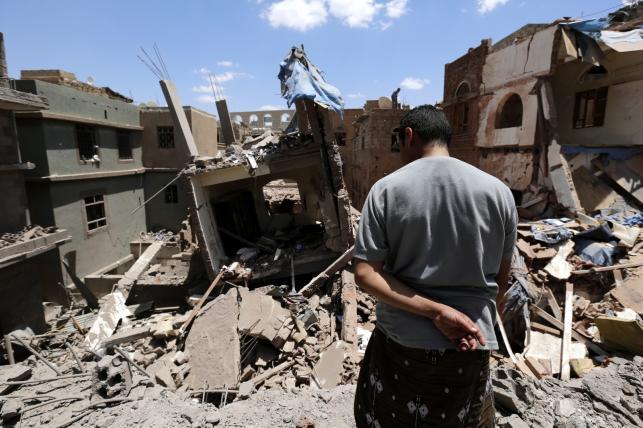 JEMEN. Naloty na zbuntowane miasto Sana