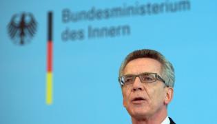 Szef MSW Niemiec Thomas de Maiziere
