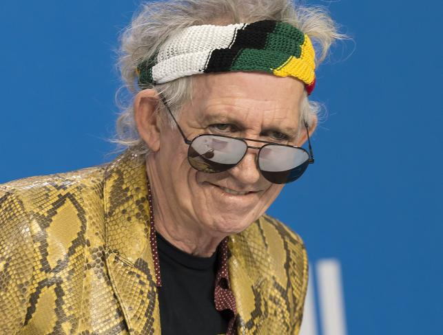 Keith Richards tym razem bez The Rolling Stones
