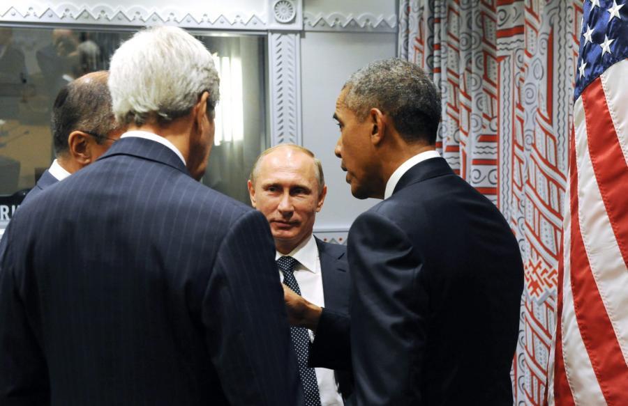 Władimir Putin i Barack Obama