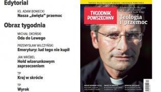 """Ksiądz Krzysztof Charamsa na okładce """"Tygodnika Powszechnego"""" (źródło: www.tygodnikpowszechny.pl)"""
