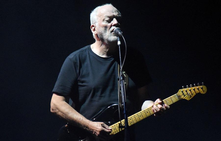 David Gilmour trzyma solidny poziom
