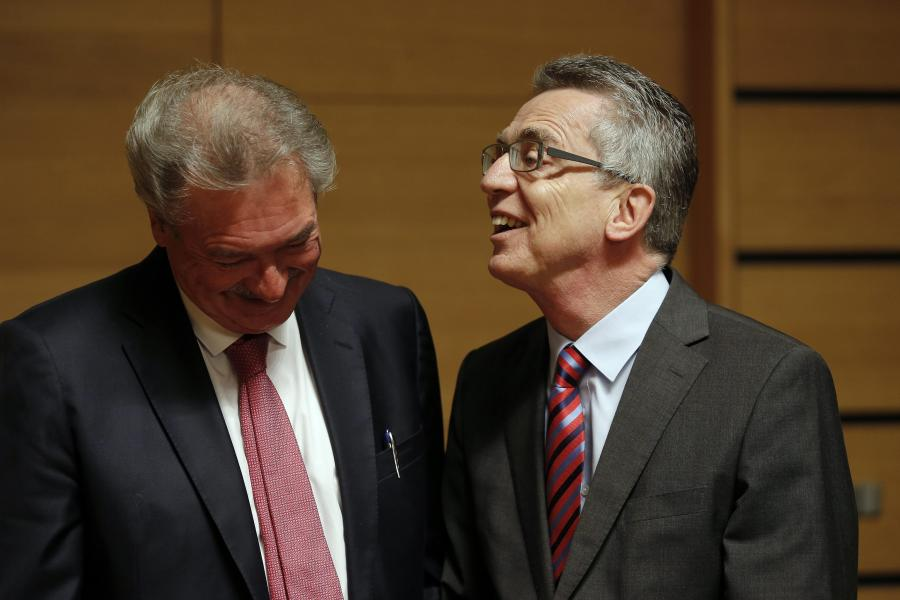 Jean Asselborn i Thomas de Maiziere