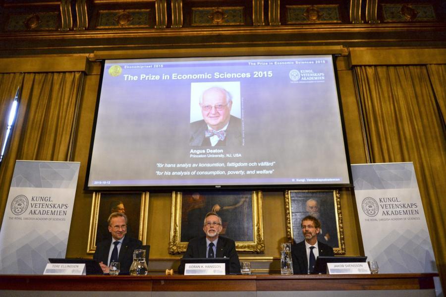 Angus Deaton otrzymał ekonomiczną Nagrodę Nobla