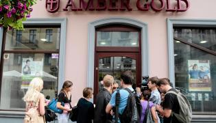 Placówka Amber Gold przy ul. Piotrkowskiej w Łodzi