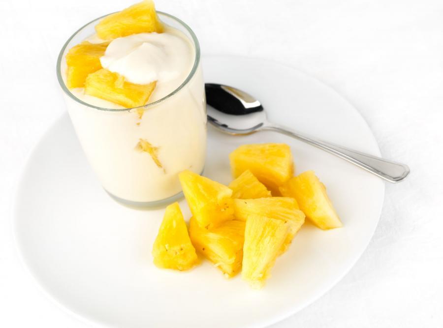 Ananas łagodzi nudności (także ciążowe)