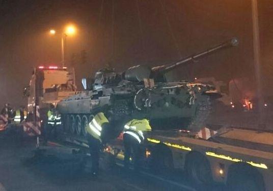 Czołg nie należał do sił zbrojnych RP