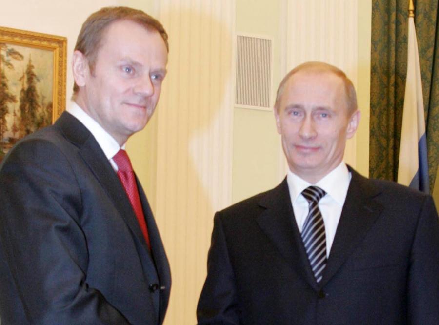 Tusk ma zapytać Putina o Katyń