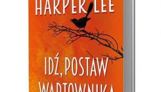 """okładka książki Harper Lee """"Idź, postaw wartownika"""""""
