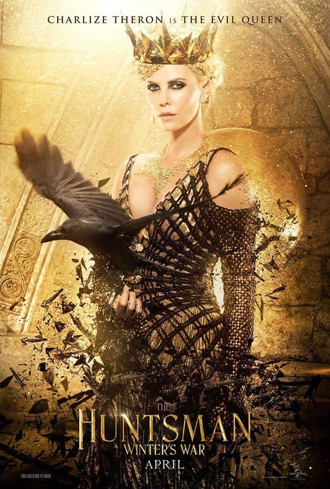 Zła królowa Charlize Theron